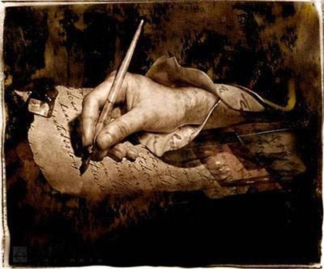 Resultado de imagen de manuscrito pluma