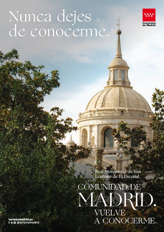 Vuelve la campaña turística 'Comunidad de Madrid. Vuelve a conocerme'   es por madrid